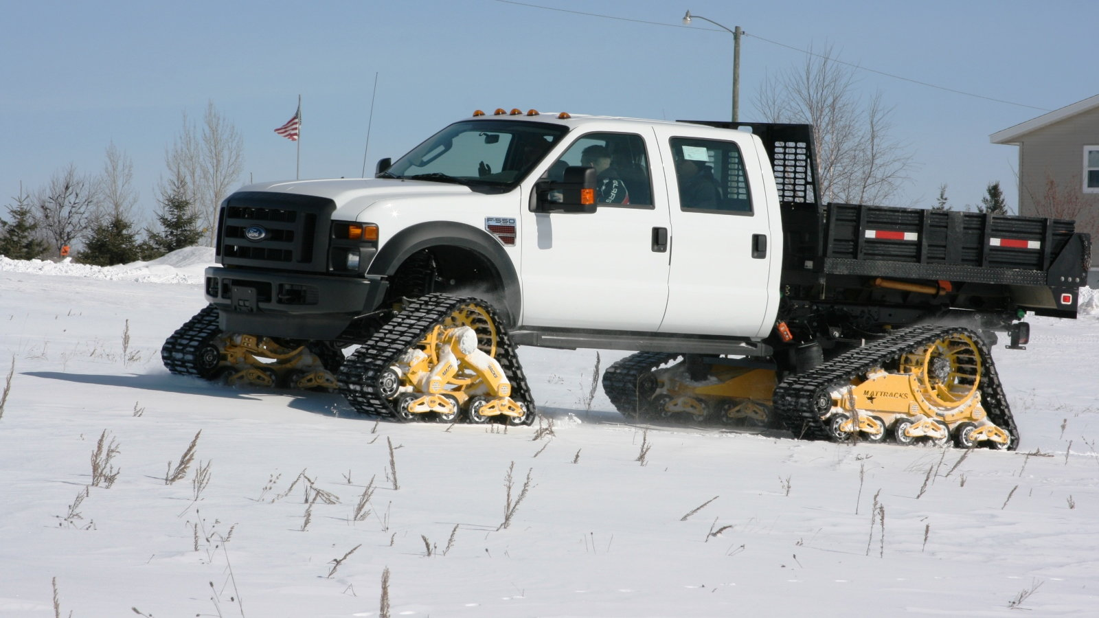 Track Converted F550 Super Duty