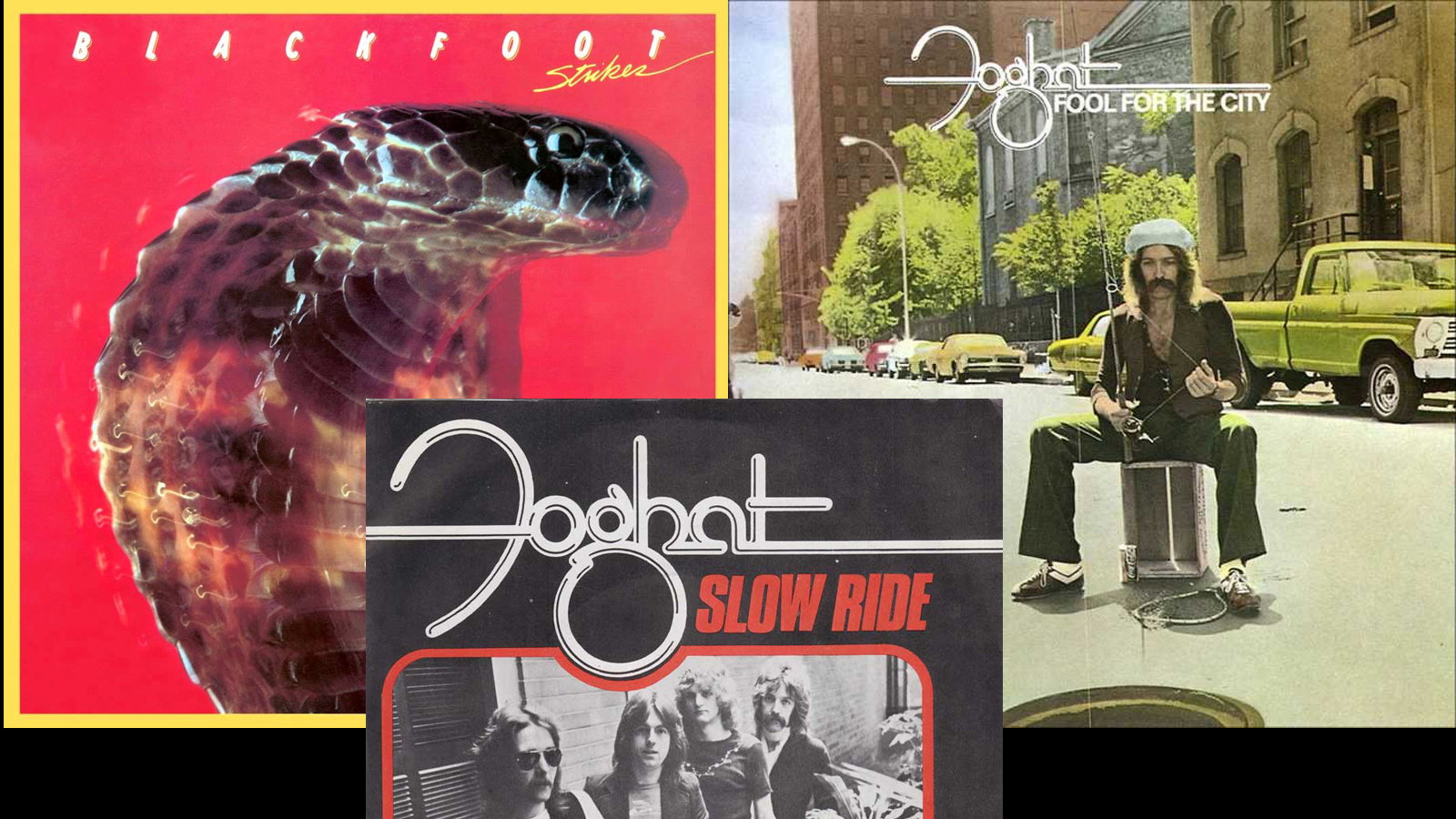 Twofer — Foghat: Slow Ride & Blackfoot: Train, Train