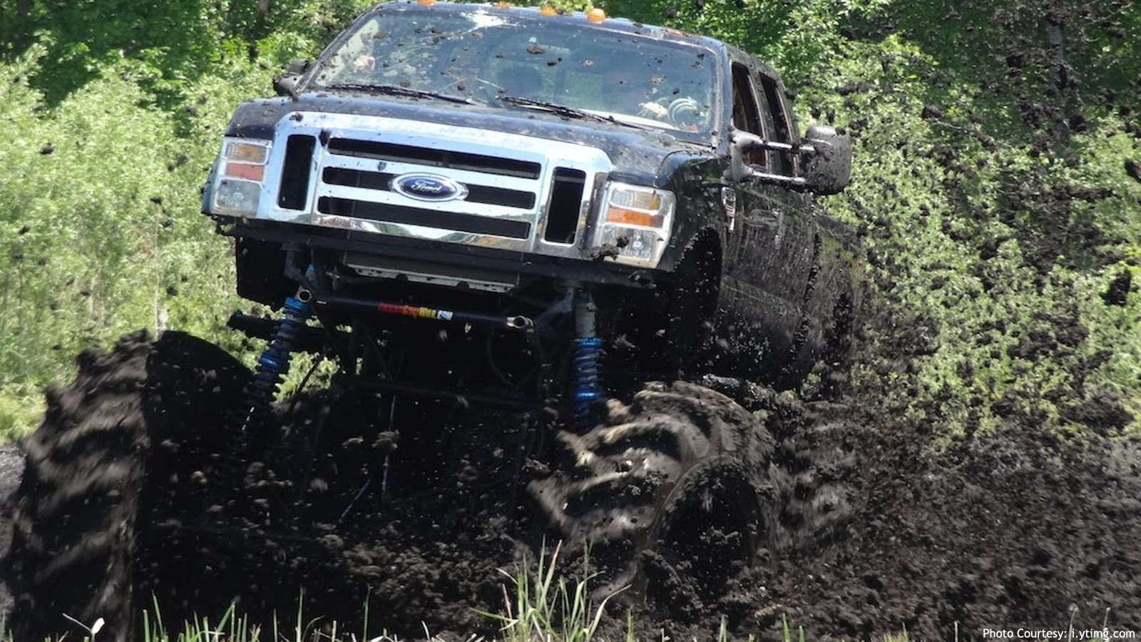 F-550 Mud Bogging