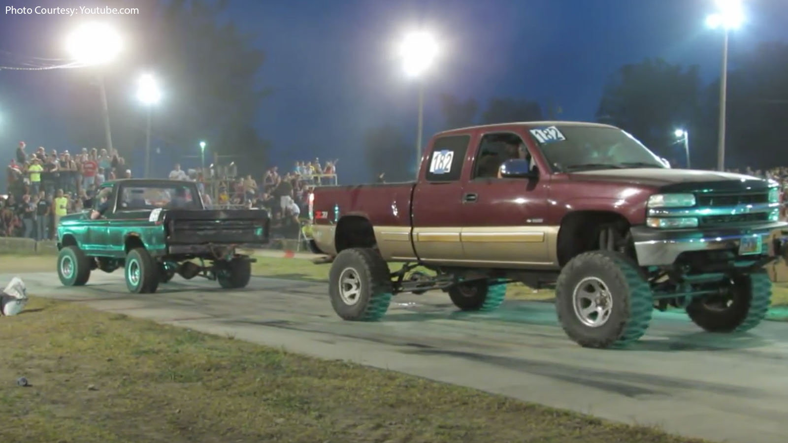 Big Chevy vs. Small Ford