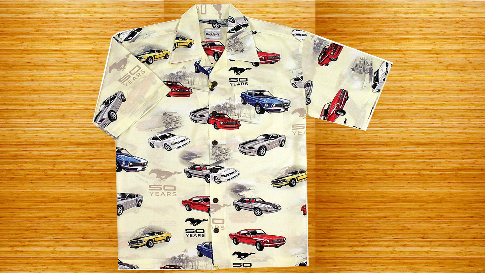 Mustang Hawaiian Shirt