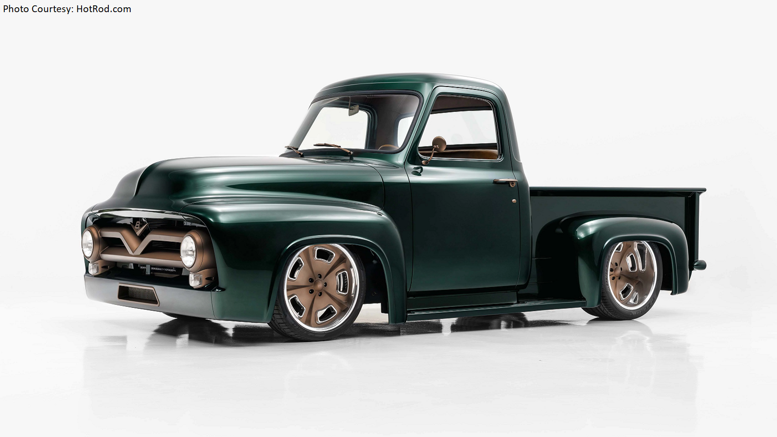 Building a Ford F-100 to Make Poppa Proud