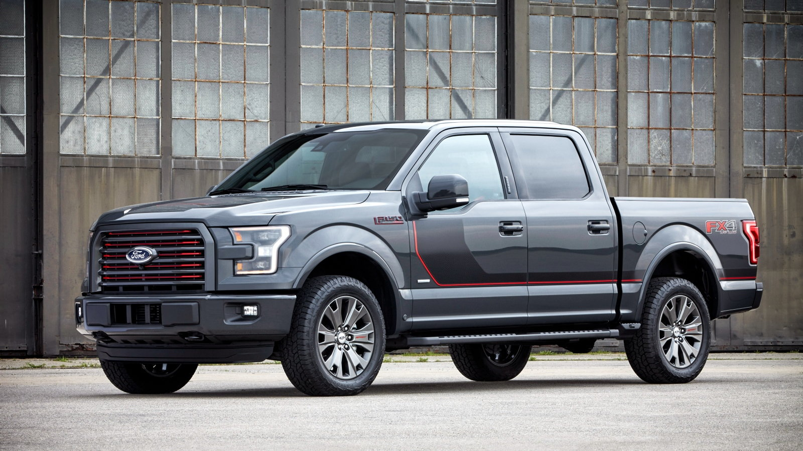 2016 Ford F-150 with Special Edition Appearance Package