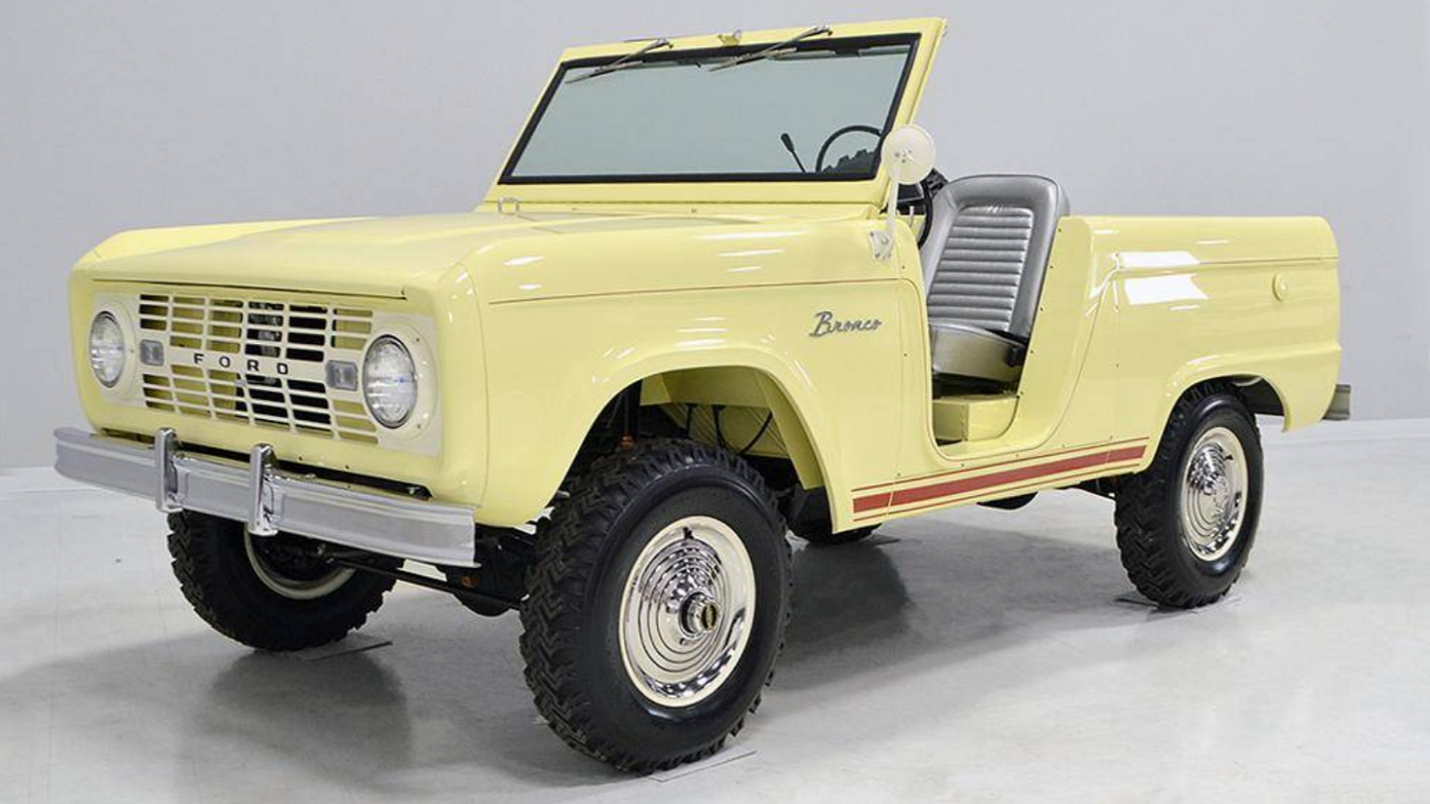 1966 Ford Bronco U13 Is One Rare Roadster