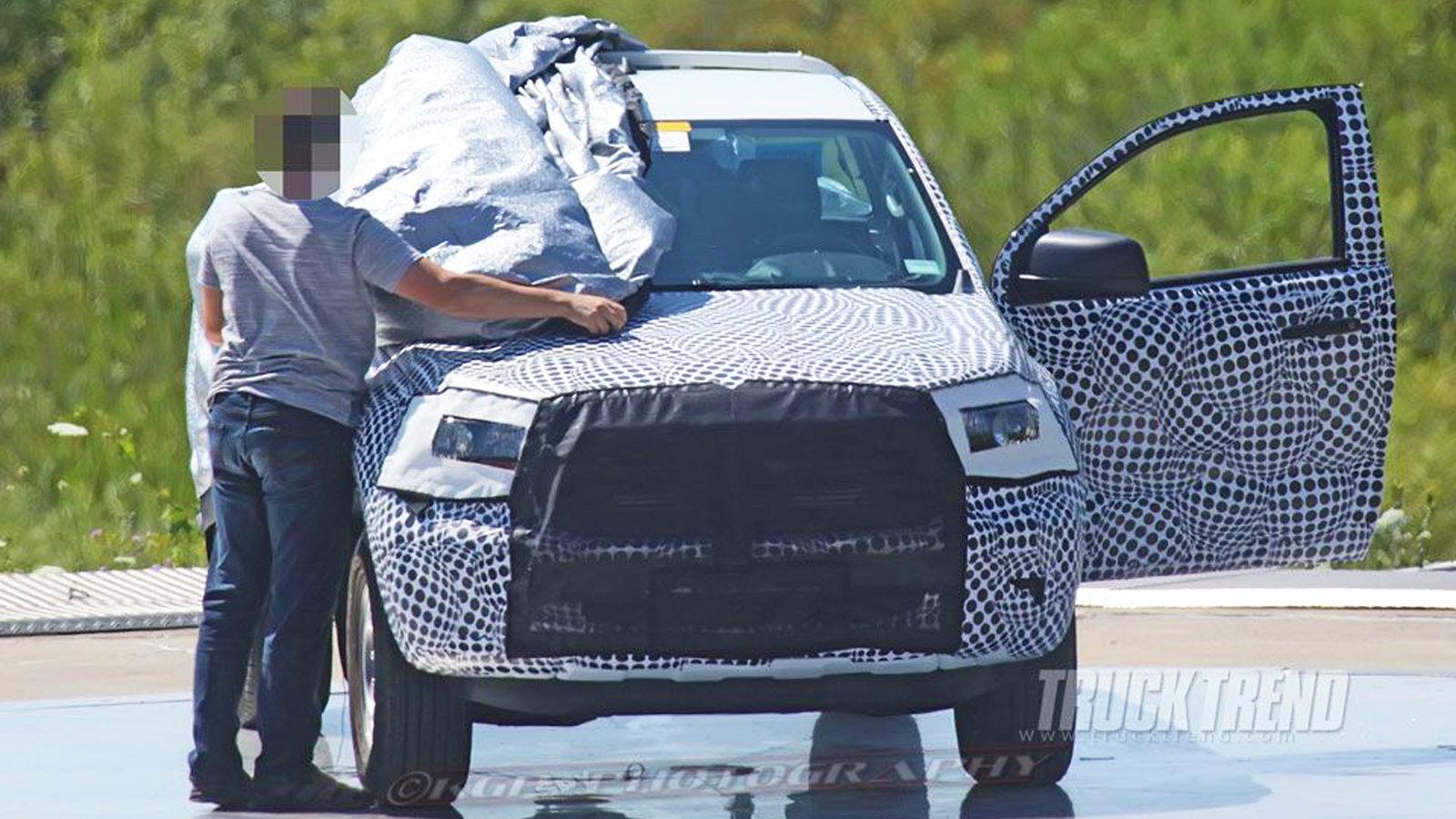2019 Ranger, Regular Cab, Spy Shots