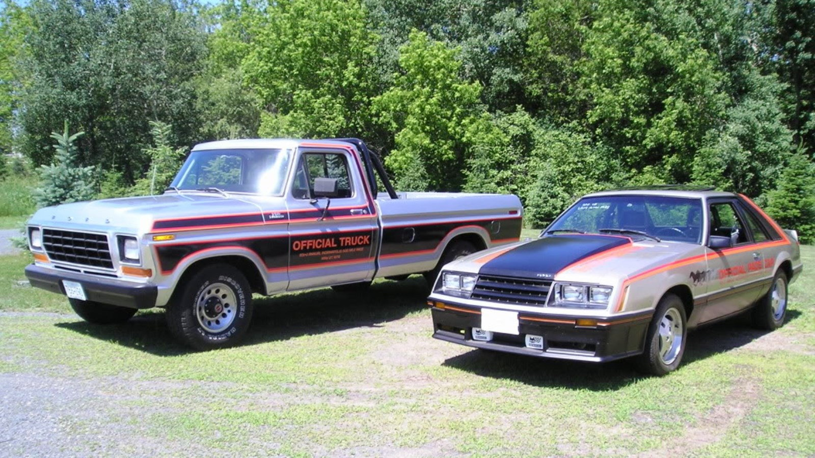 8. 1979 Ford F-150 Indy Pace Truck