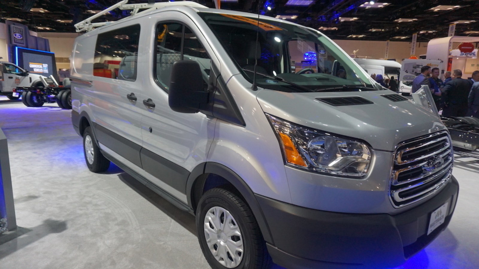 The 2018 Ford Transit Van upgraded