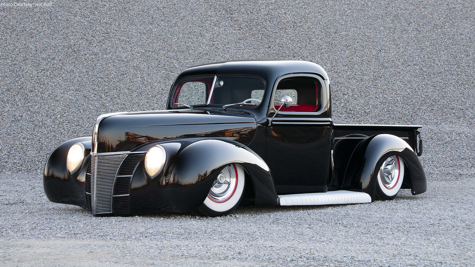 1940 Ford Pickup is as Low as they Go