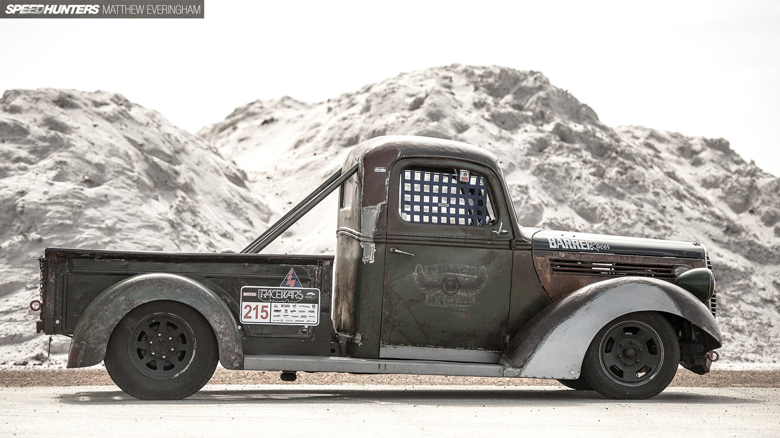 1938 Ford Pickup Becomes Barrel Racer