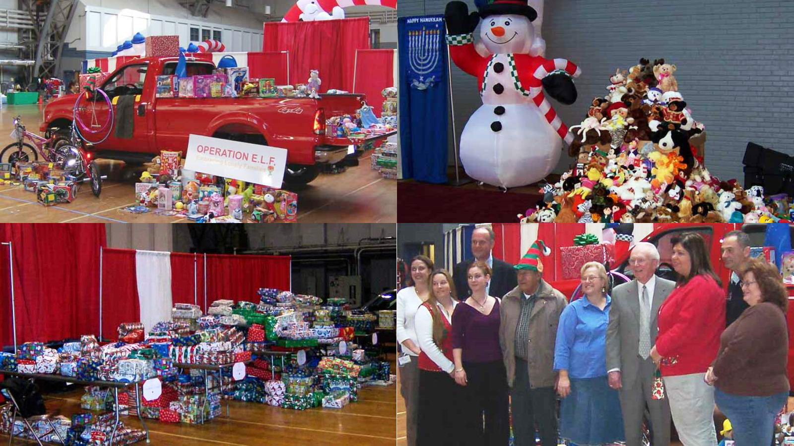 Crowley Auto Group Truckload of Toys to Operation E.L.F.