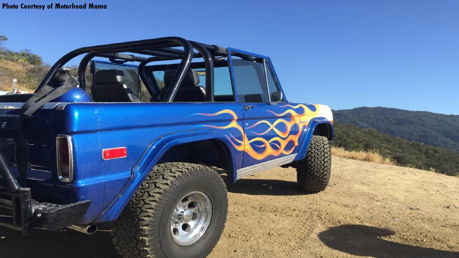 Jared Leto's Eye-Catching Bronco