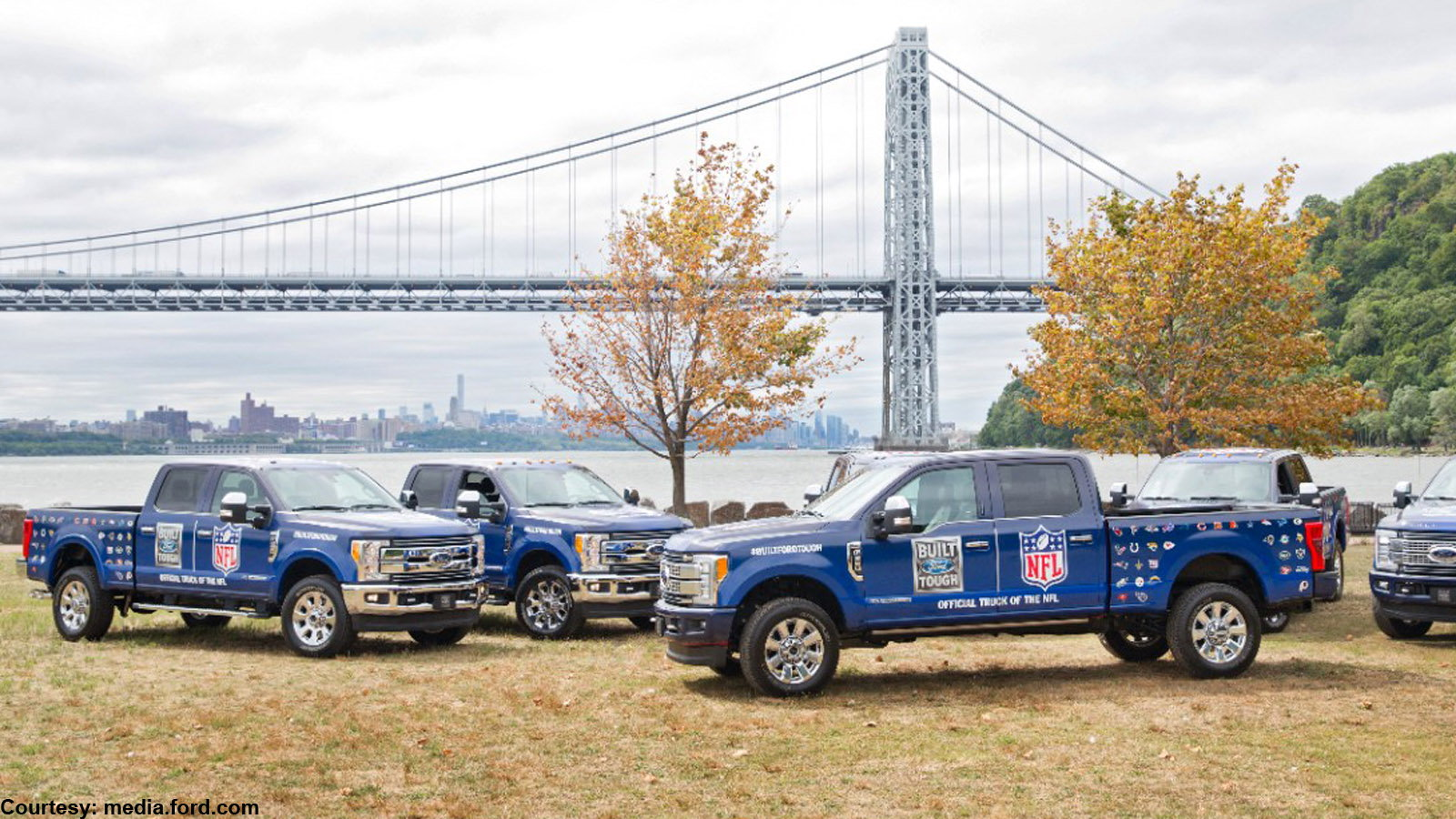 Ford becomes the official truck of the NFL