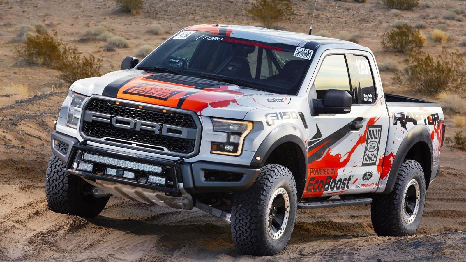 Baja F150 Raptor Race Truck