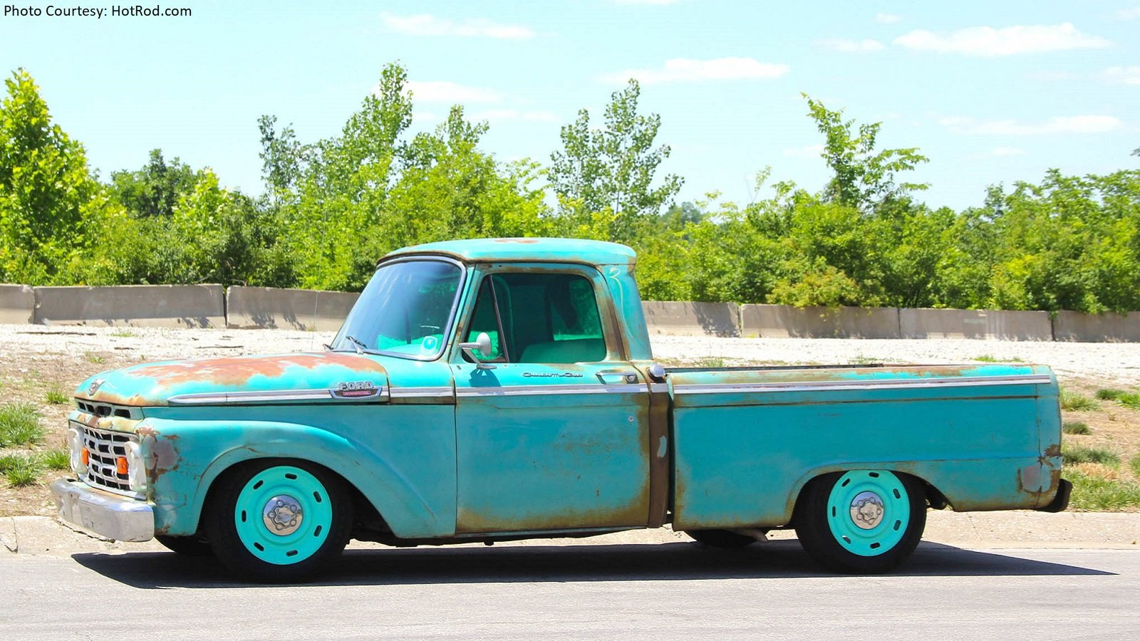Cheap Classic 1964 F-100 Becomes Reliable Long Hauler