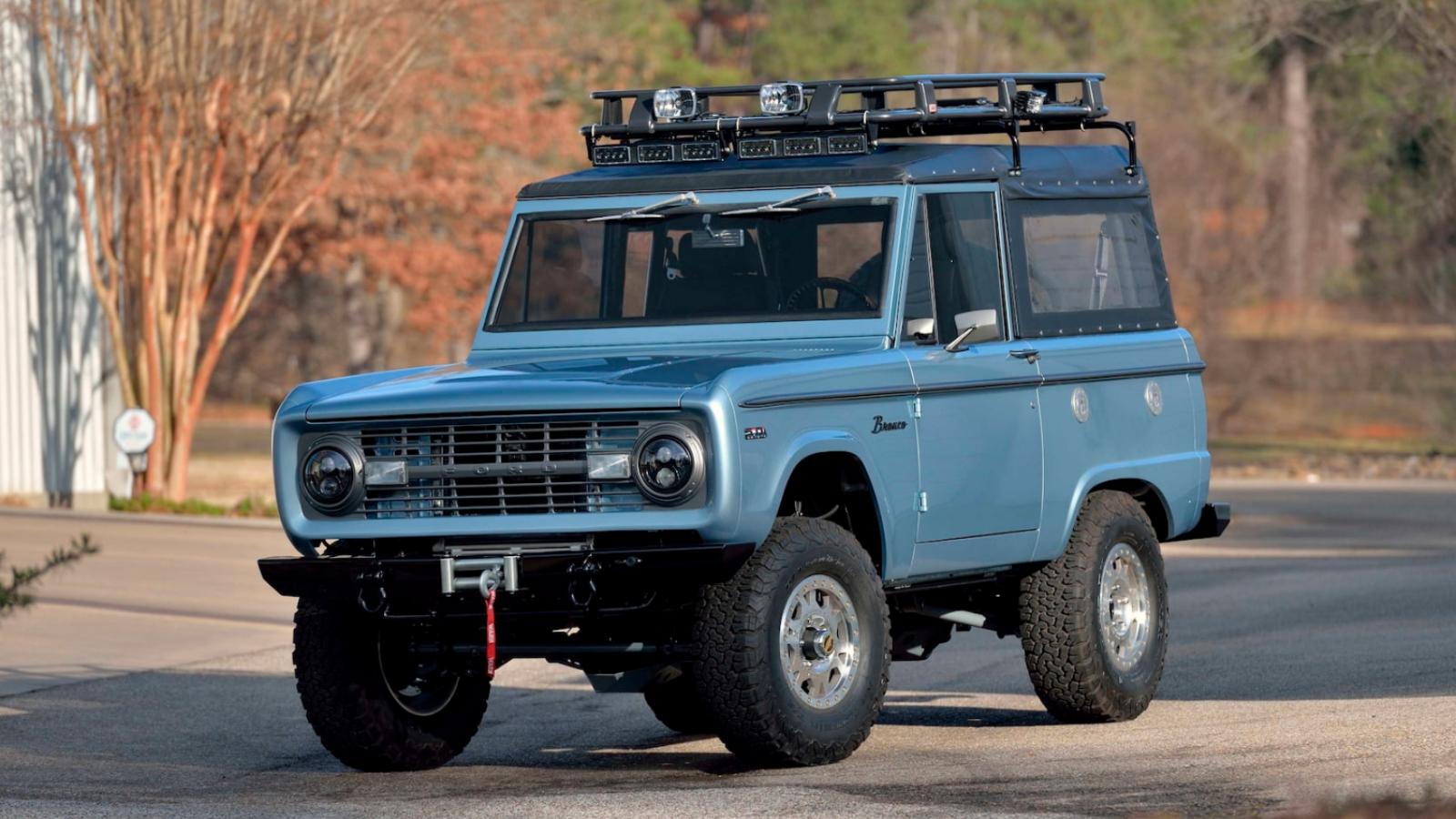 1971 Ford Bronco Restomod Boasts Coyote V8 Power