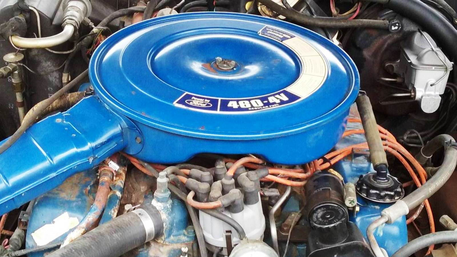 5. Ford 460 V-8