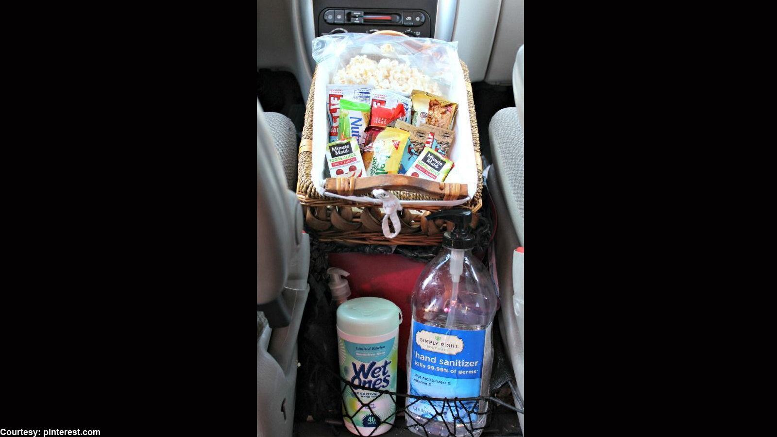 Ford Truck Road Trip Supplies