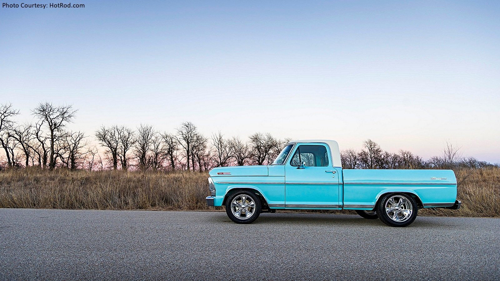 1967 Ford F-100 has a Familiar Story