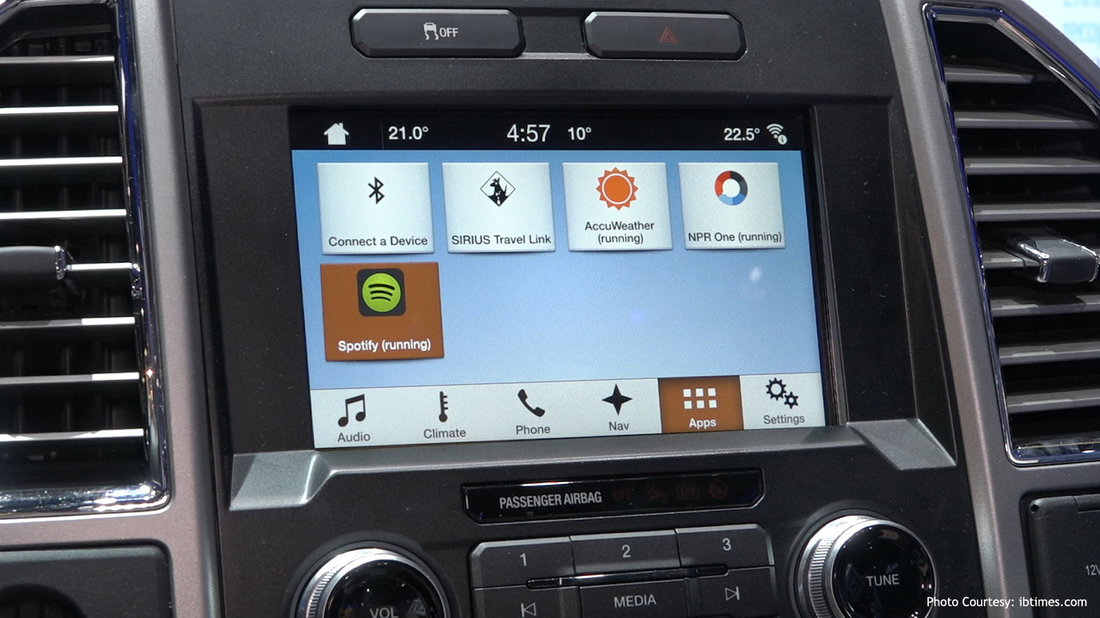 Ford F150 SYNC 3 Infotainment