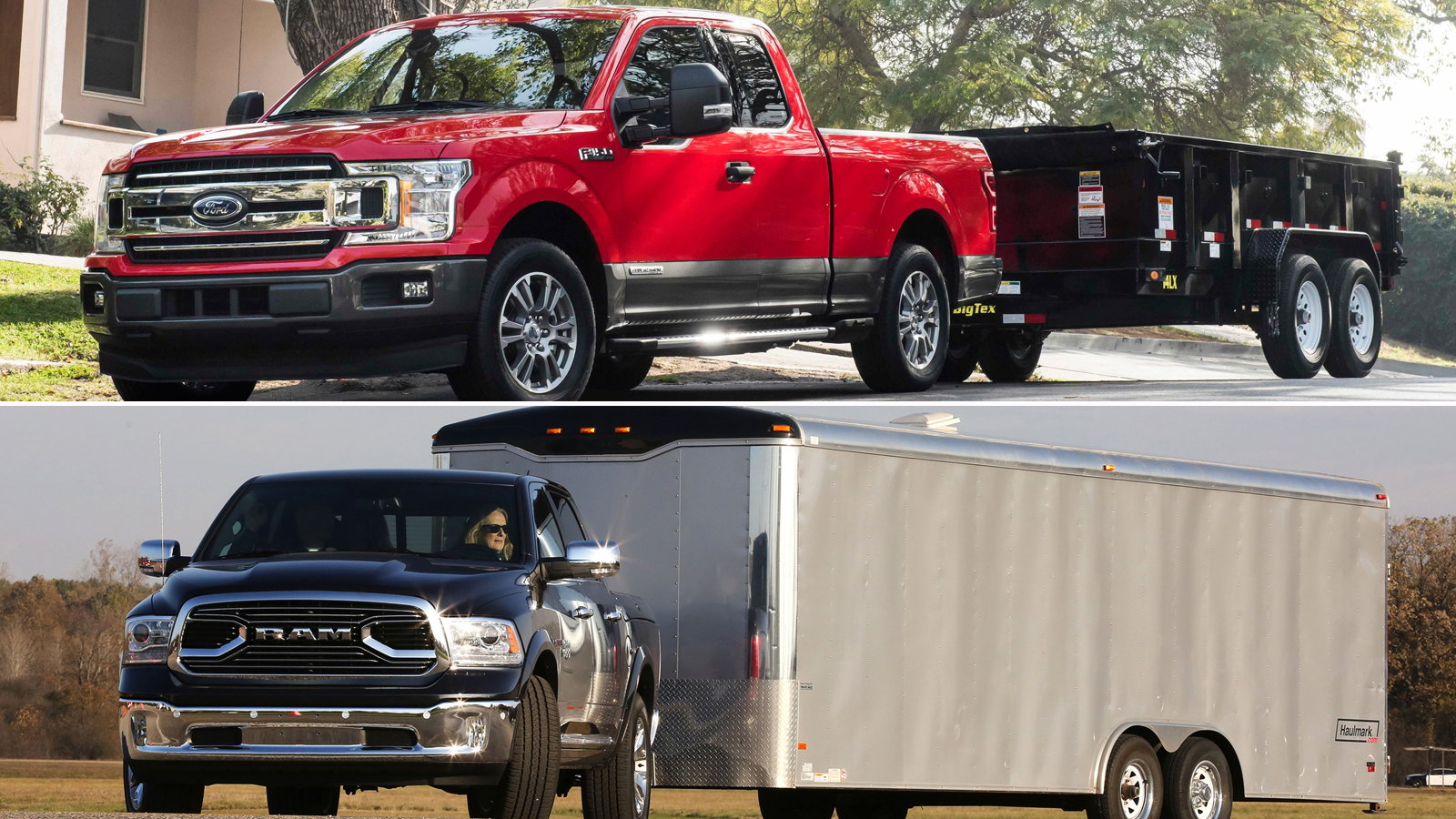 2018 F-150 Powerstroke vs the 2018 Ram 1500 EcoDiesel