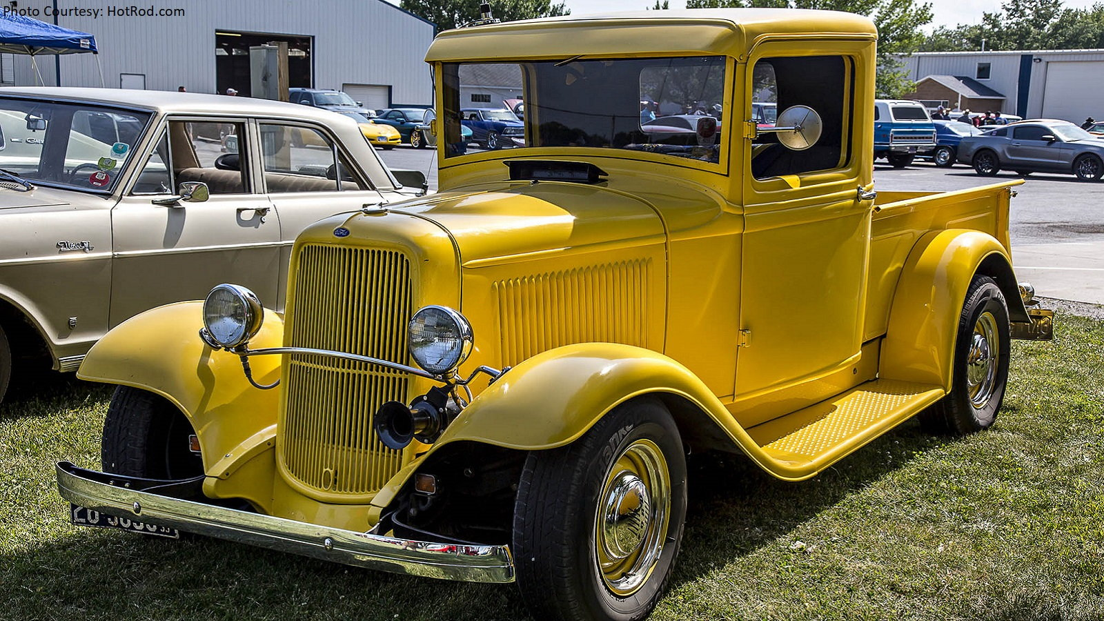 Old School Hot Rod Ford