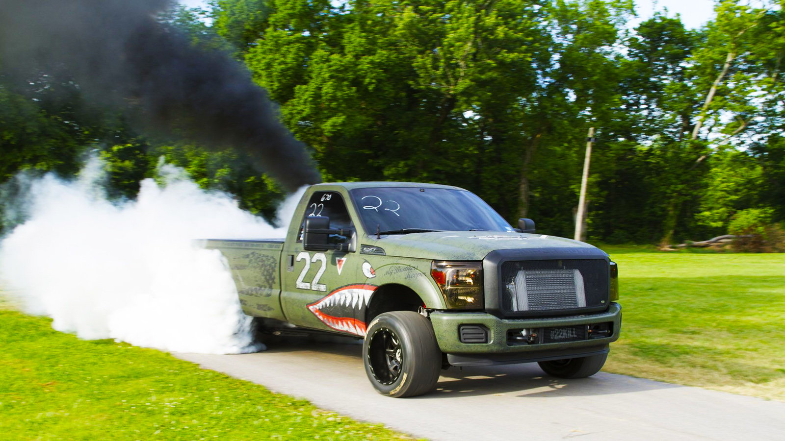F-250, Turbo, Veterans