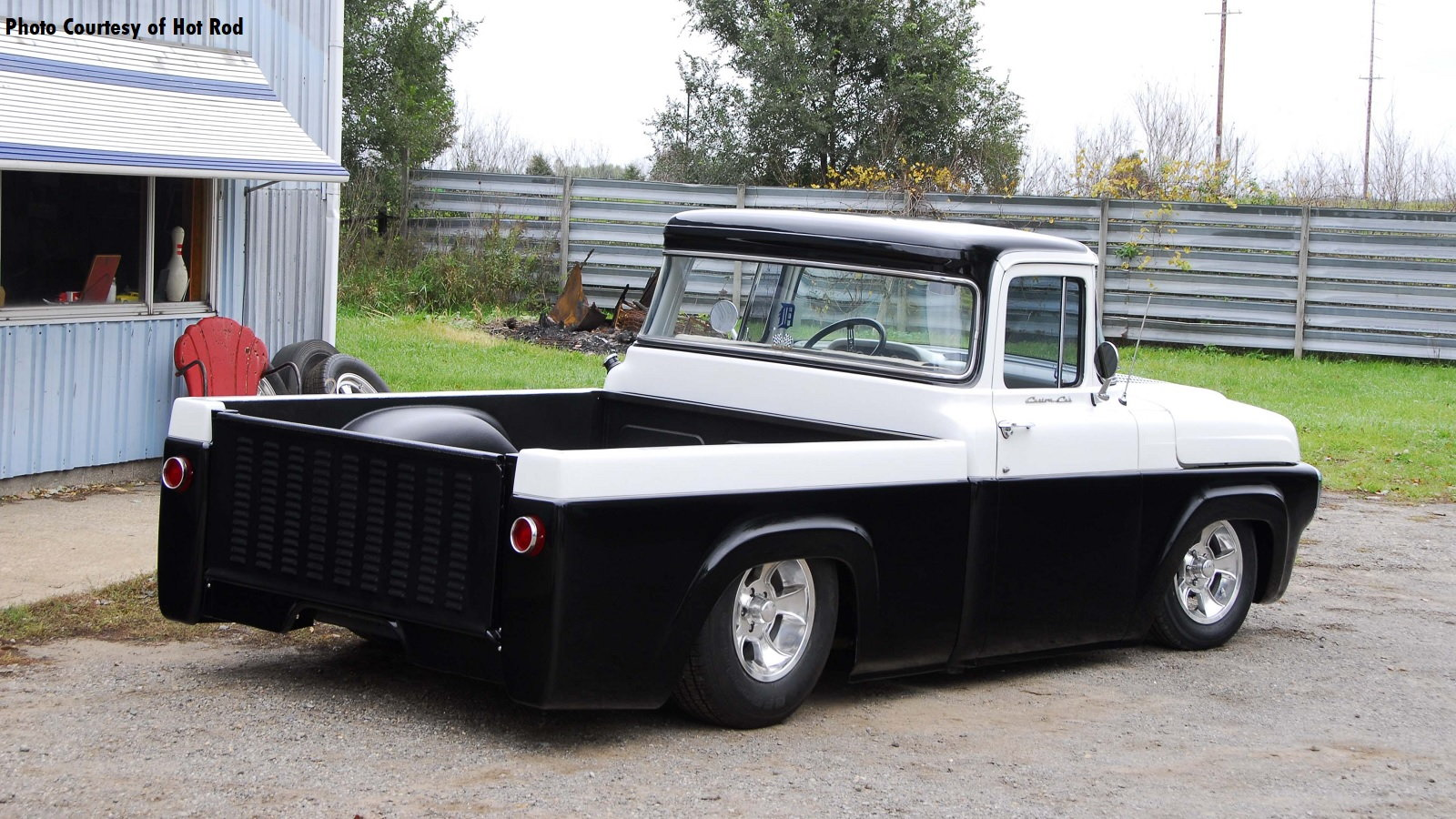 1957 F-100 Has a 4.6-Liter Police Interceptor Heart