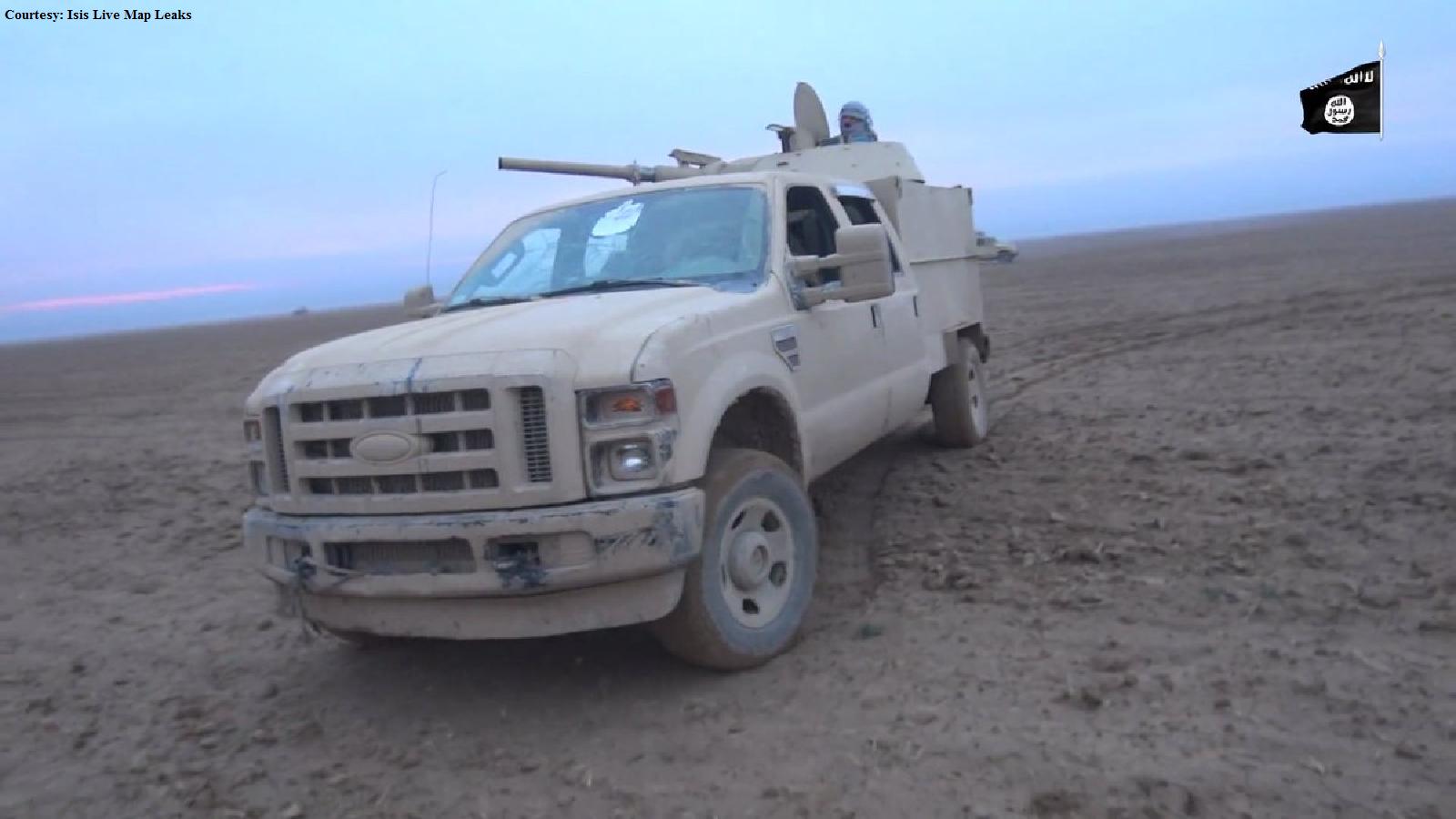 A Makeshift Artillery Vehicle