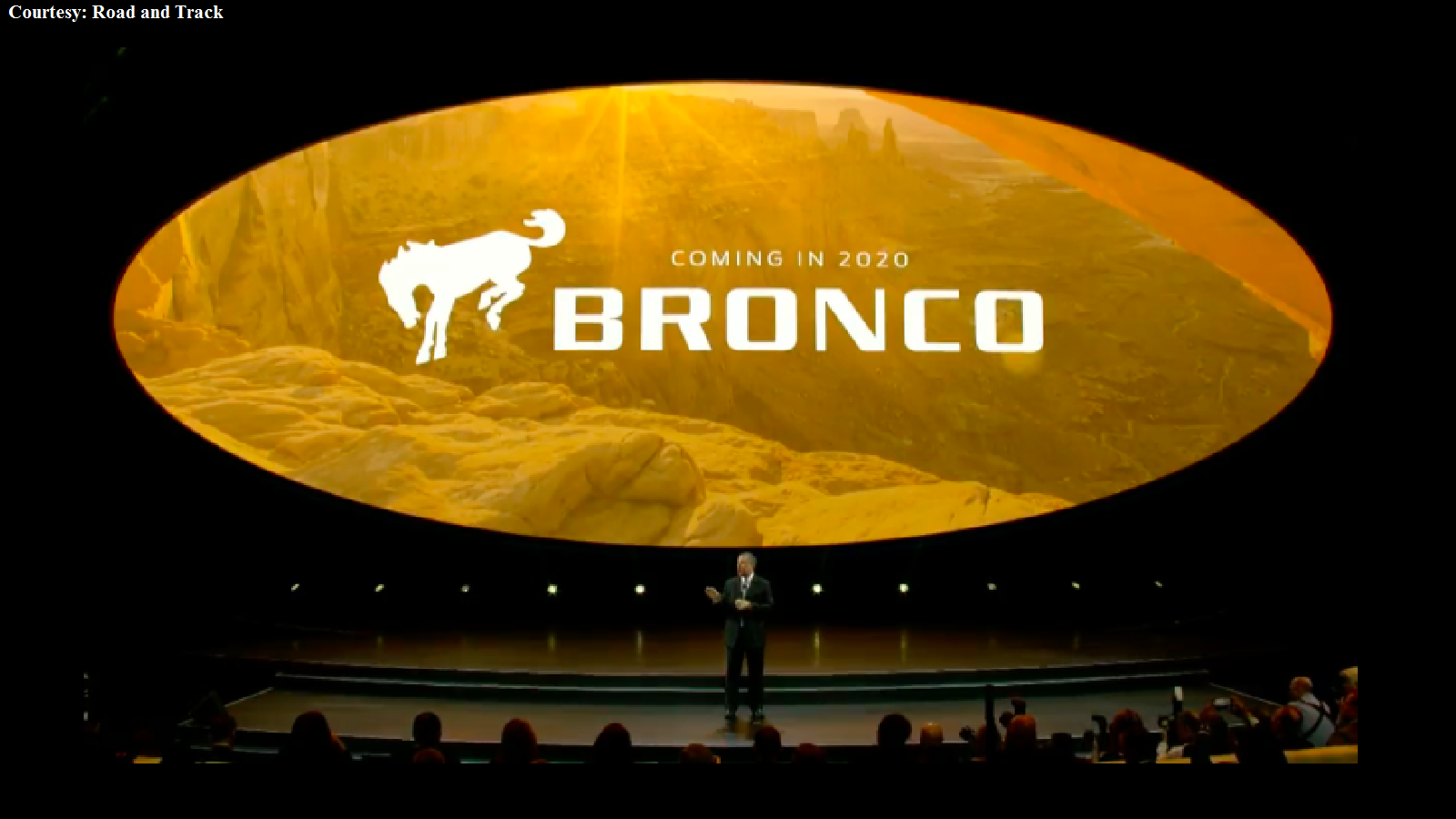 A new Ford Bronco is announced for 2020