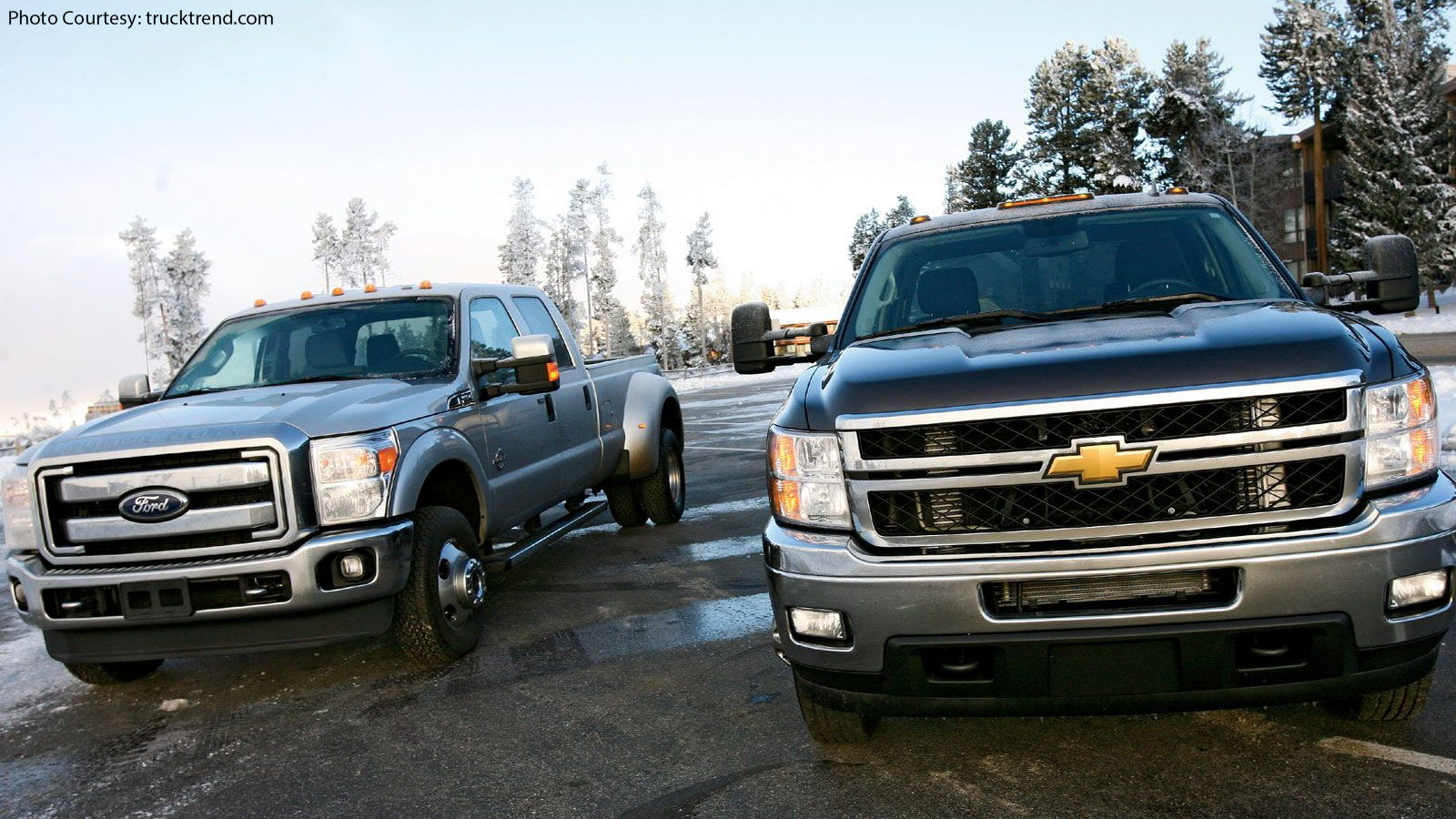 Never Give a Compliment To a Chevy Truck