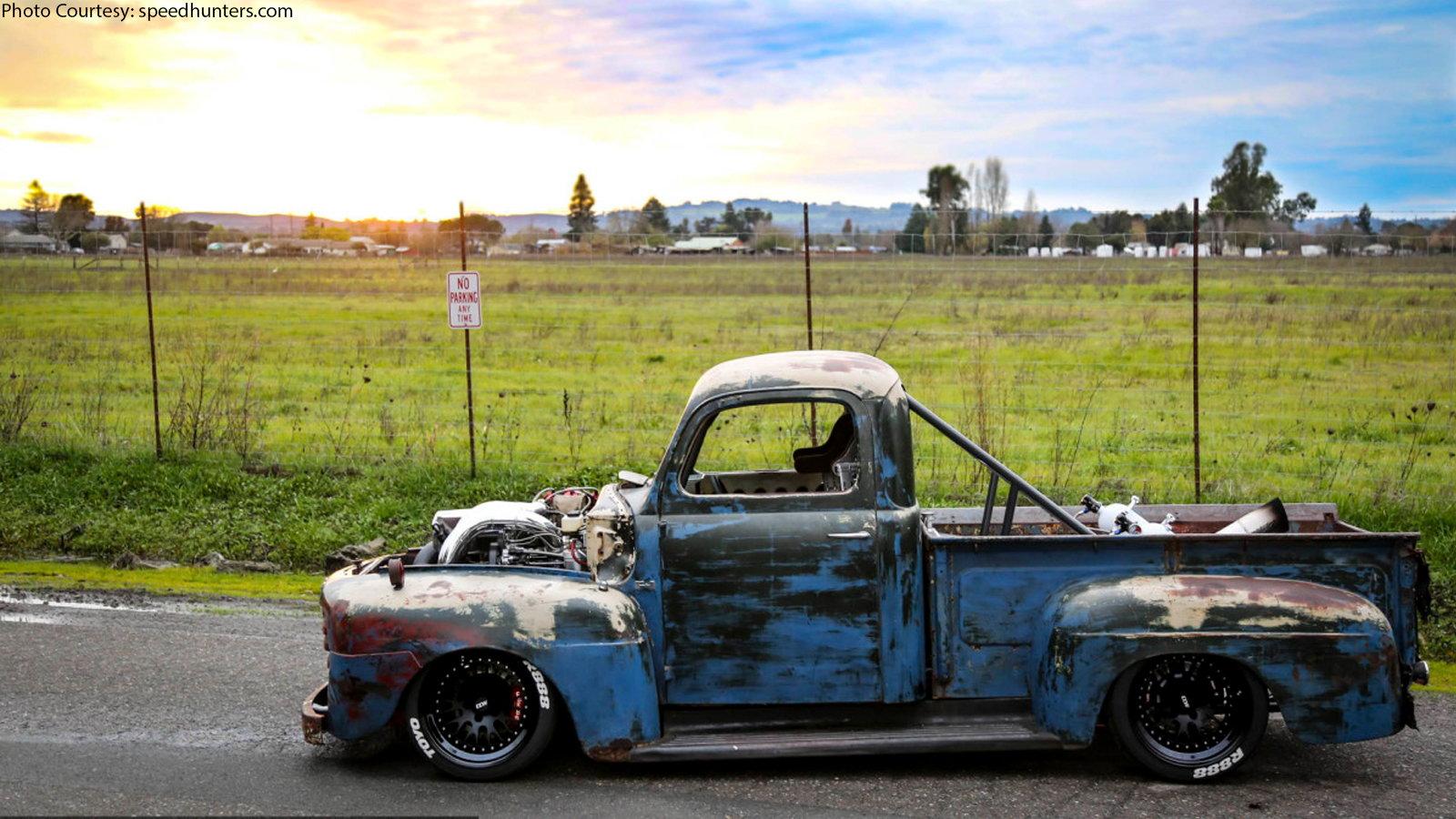 Old Smokey, Ford F1, Restomod