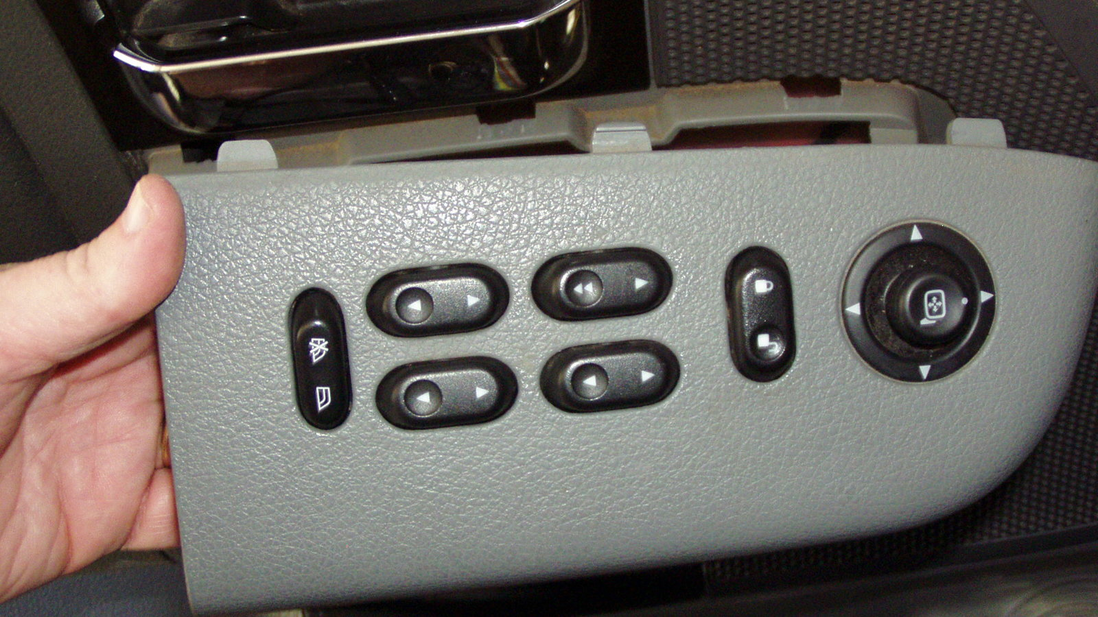 00-02 FORD EXCURSION XLT 6.8L V10 DRIVER LEFT SIDE MASTER POWER WINDOW SWITCH