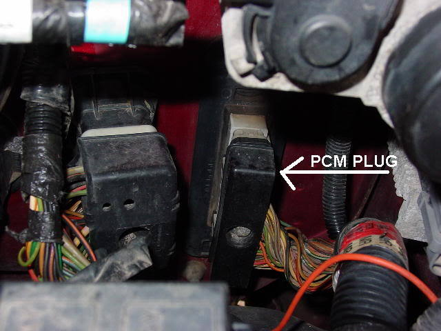 Pcmplug on 1996 Ford Mustang Wiring Diagram