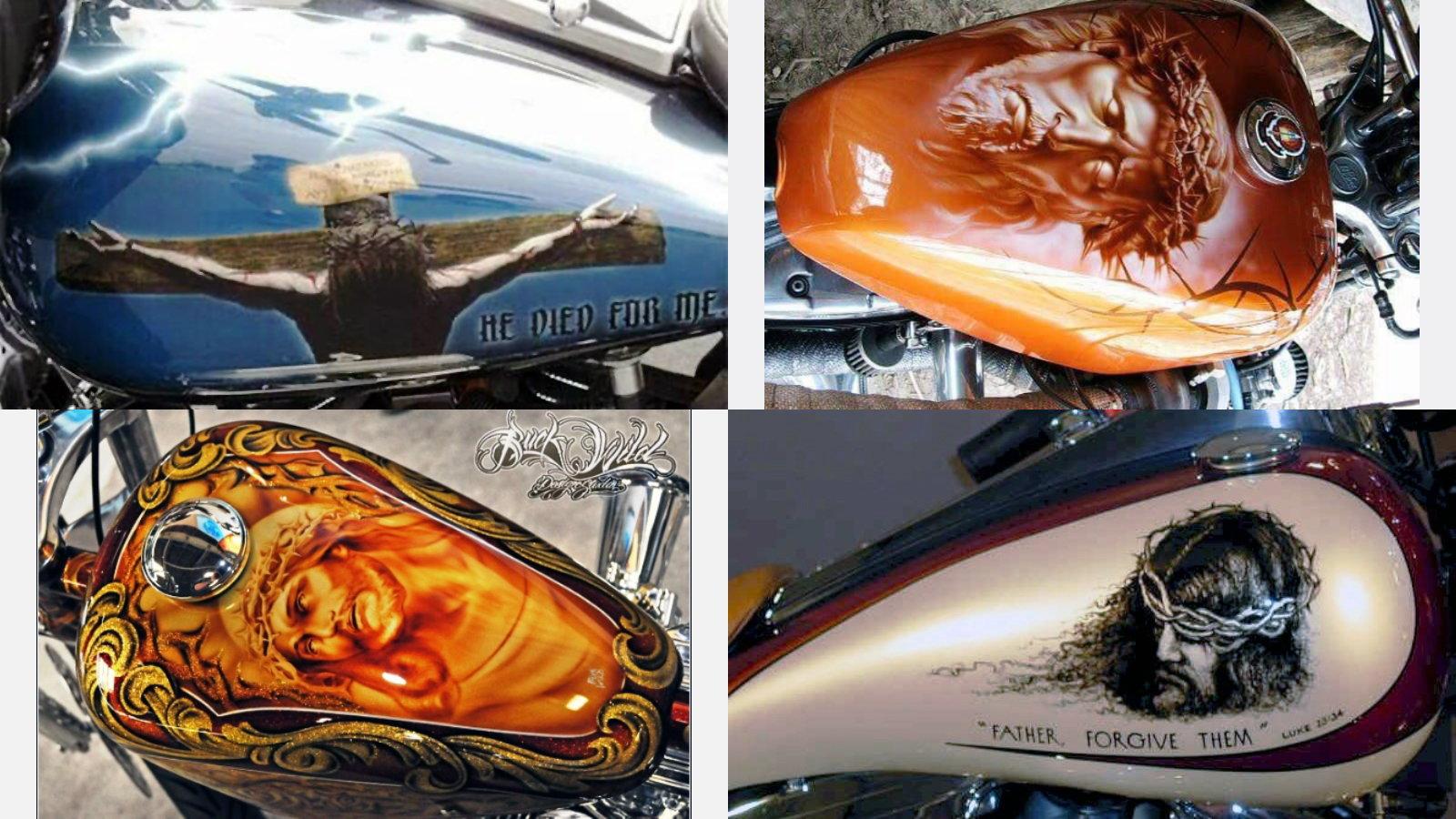 7 Jesus Themed Harley Davidson Paint Jobs For Easter Hdforums