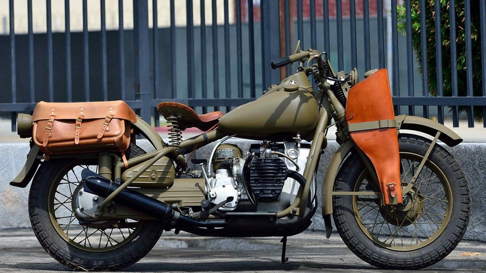 1942 XA Type 1 is the Rarest WW2 Harley-Davidson | Hdforums
