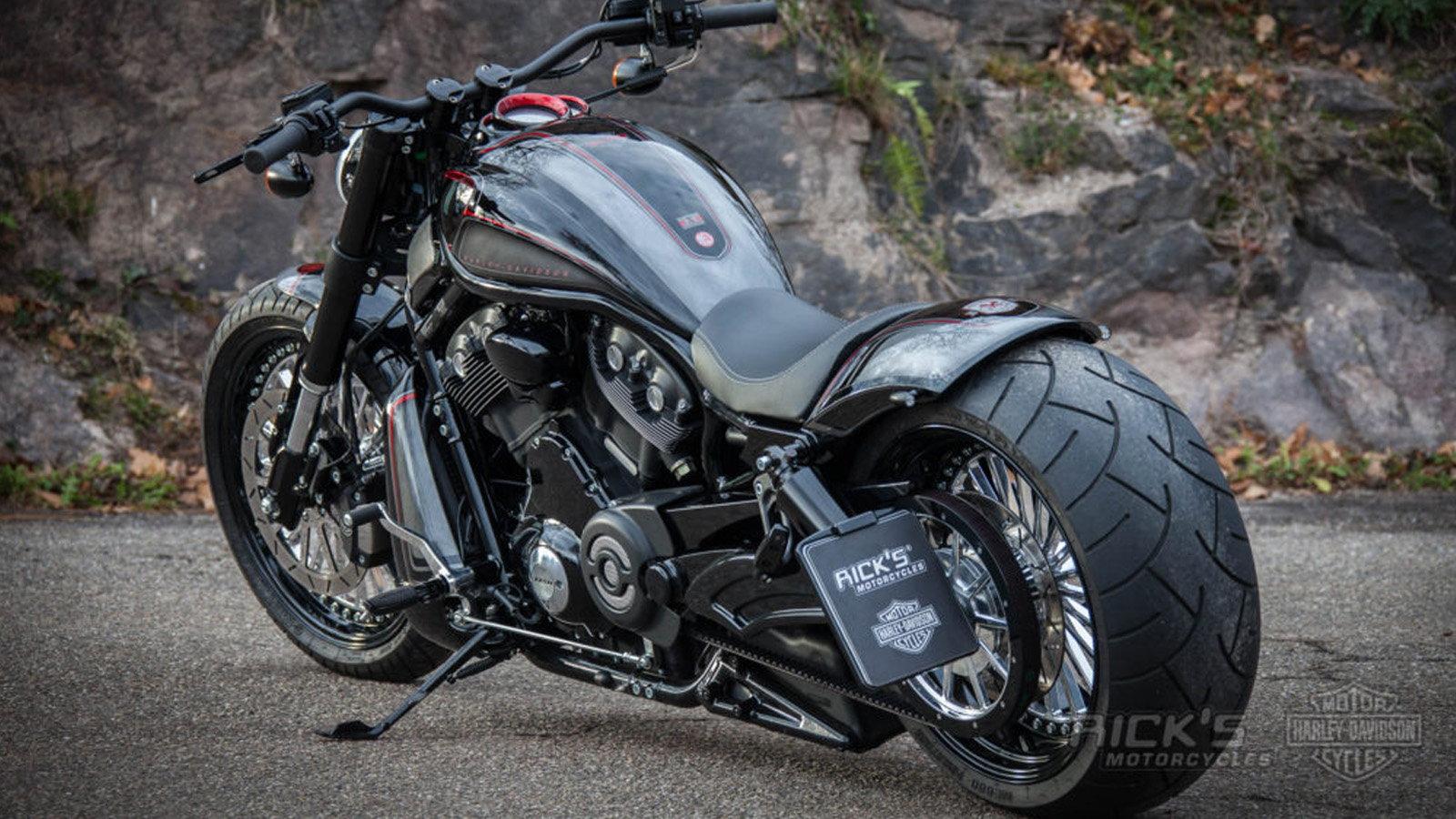 Custom 2016 Harley Davidson V Rod Is All Muscle Hdforums