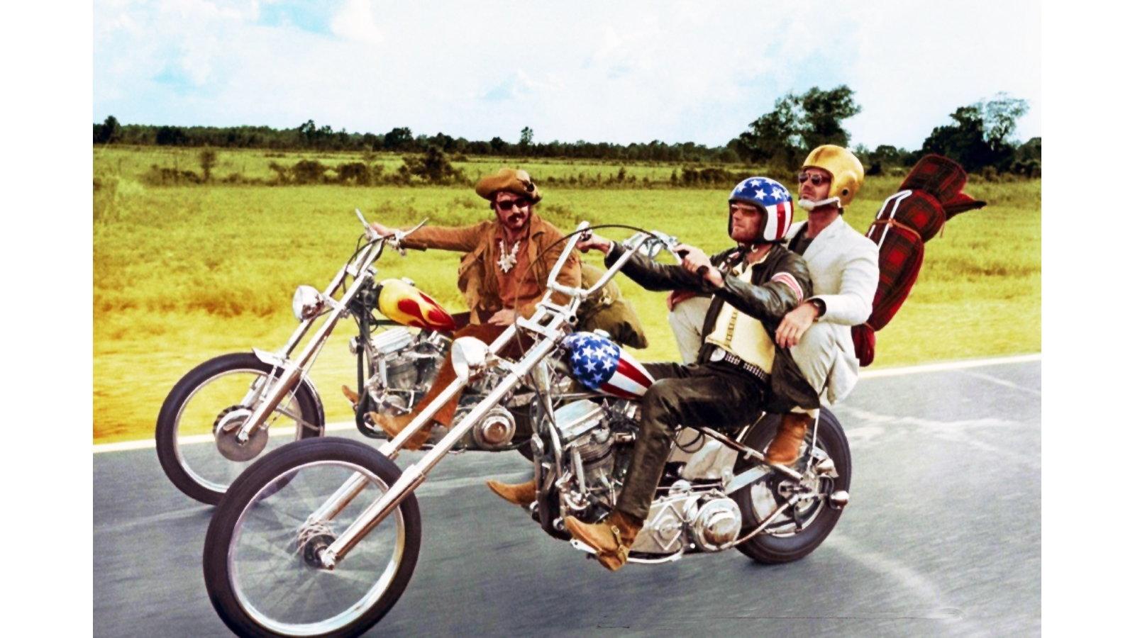 Harley Davidson Freewheeler Easy Rider Men`s Dark T-Shirt