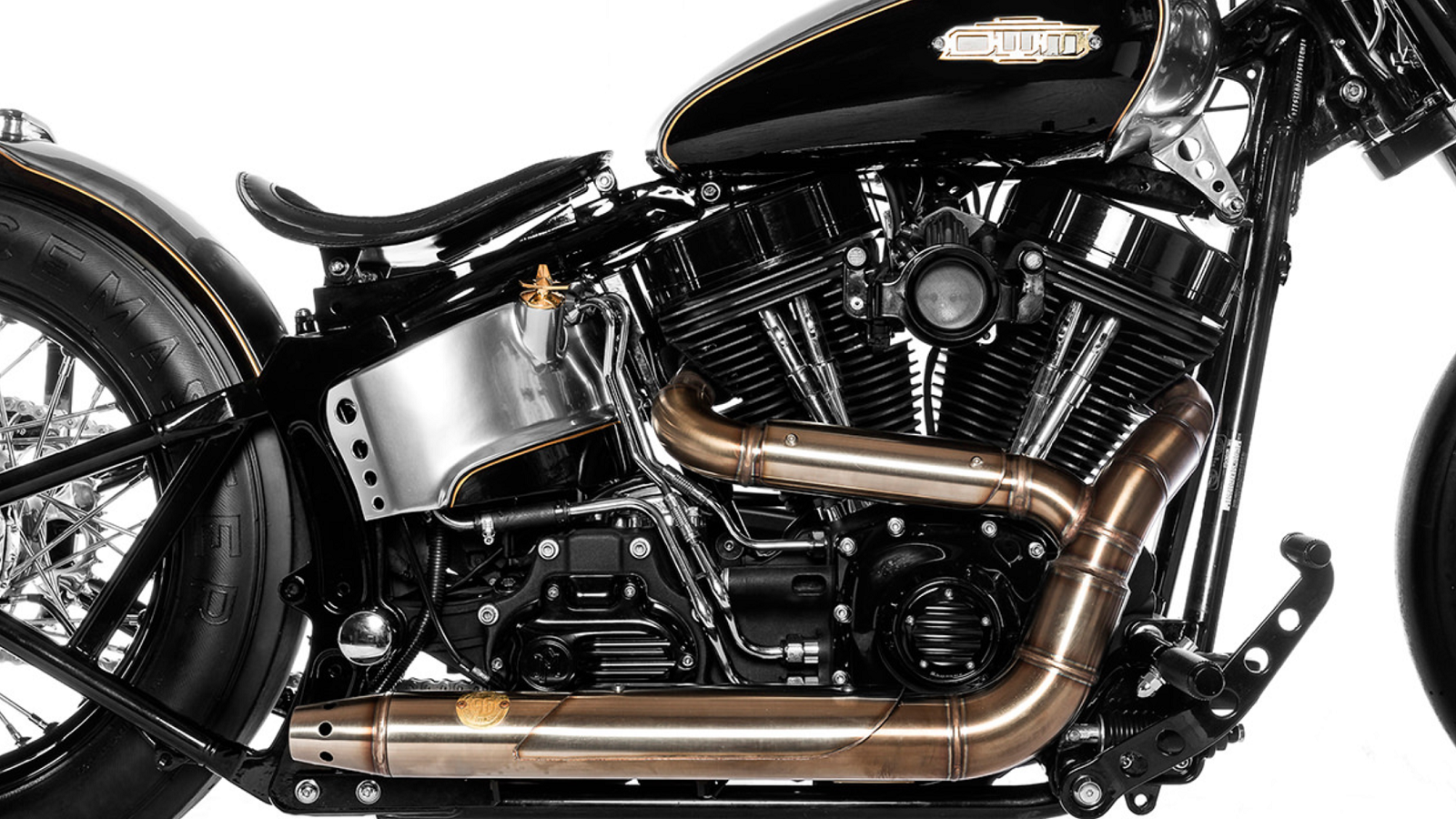Insanely Detailed Custom Heritage Softail Built by a Champion