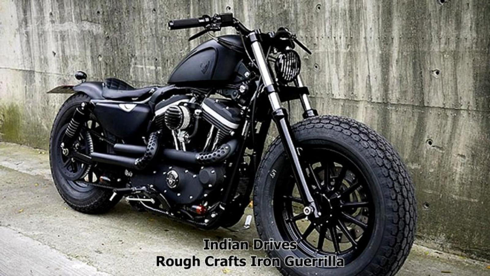 Muscular Harley Sportster by Rough Crafts