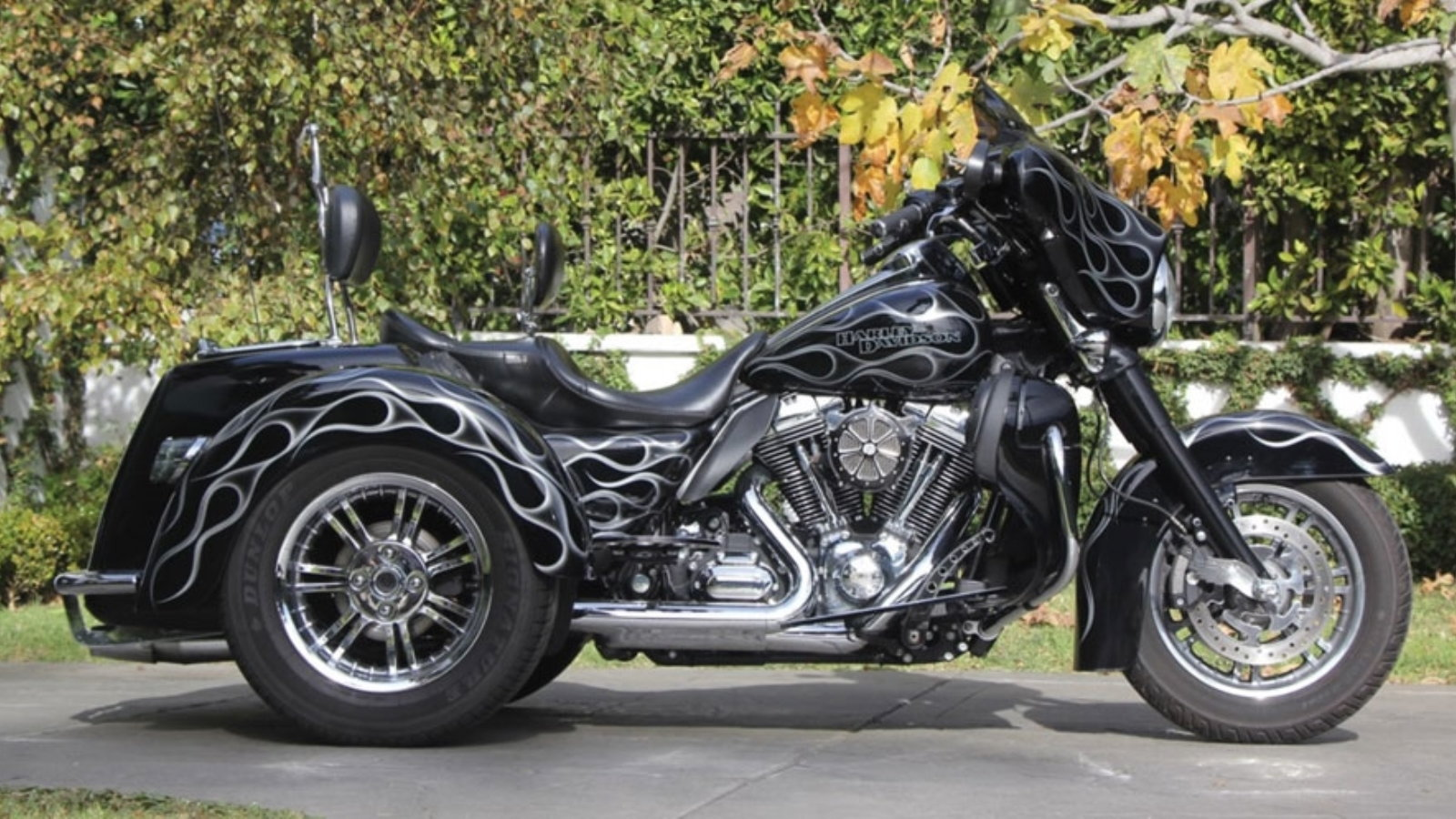 Johnny Hallyday's Rock-and-Roll Trike on Auction Block