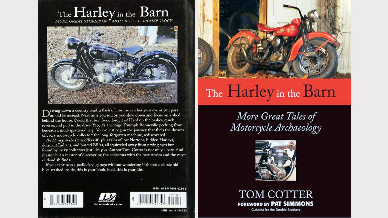 The Harley in the Barn: More Great Tales of Motorcycle Archaeology - Tom Cotter