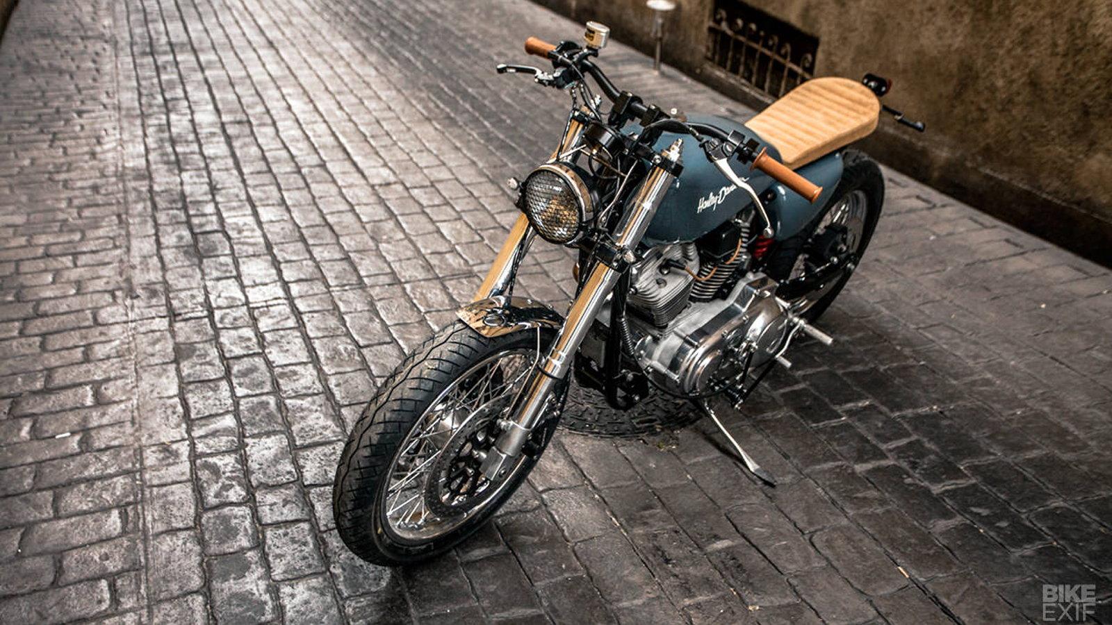 Harley-Davidson Sportster Cafe Racer by XTR Pepo