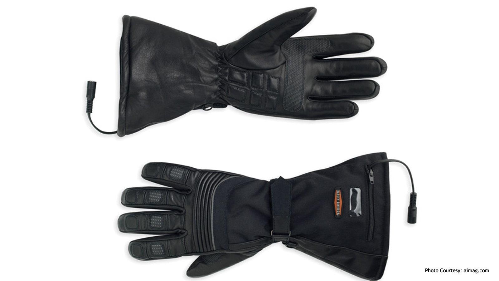 Harley Davidson Heated Gloves