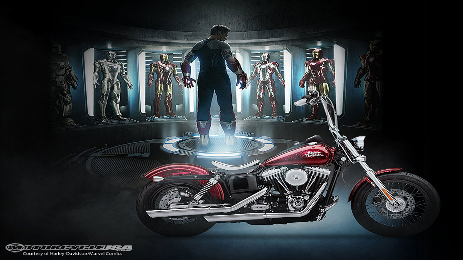 7 Awesome Times Harley-Davidson Has Appeared with Marvel