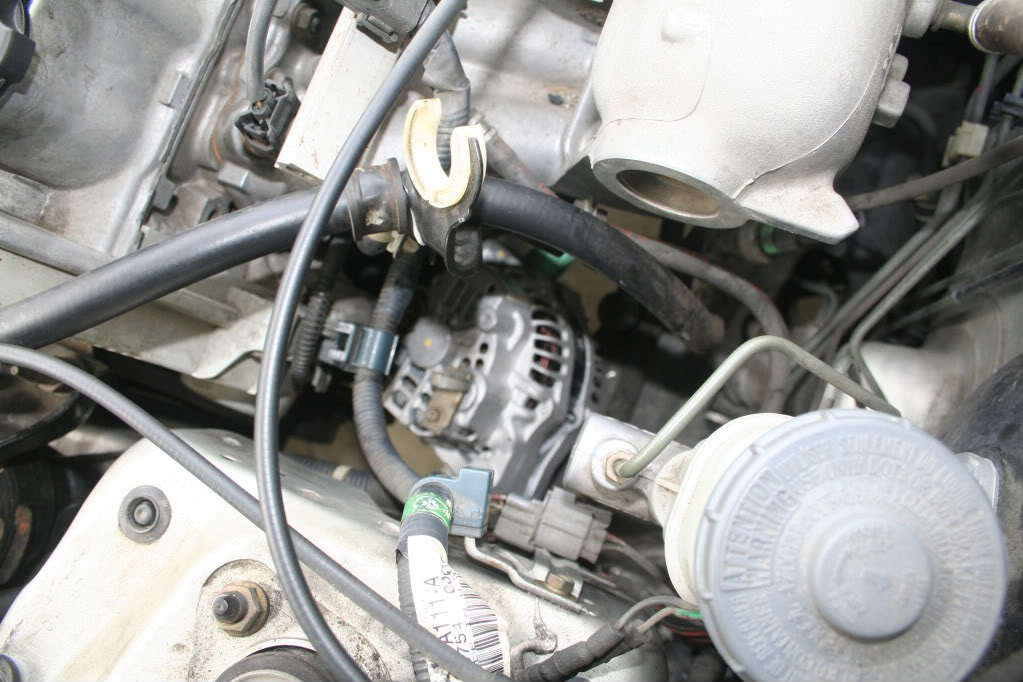 Location Of A Honda Civic Alternator