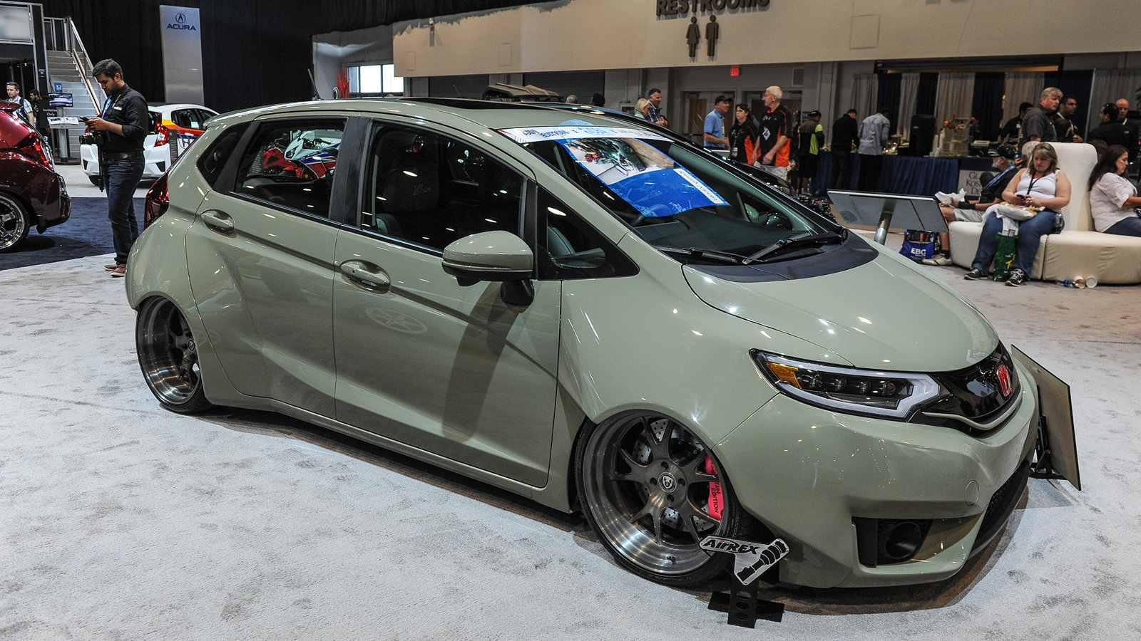 Honda Fit More Mods than Car