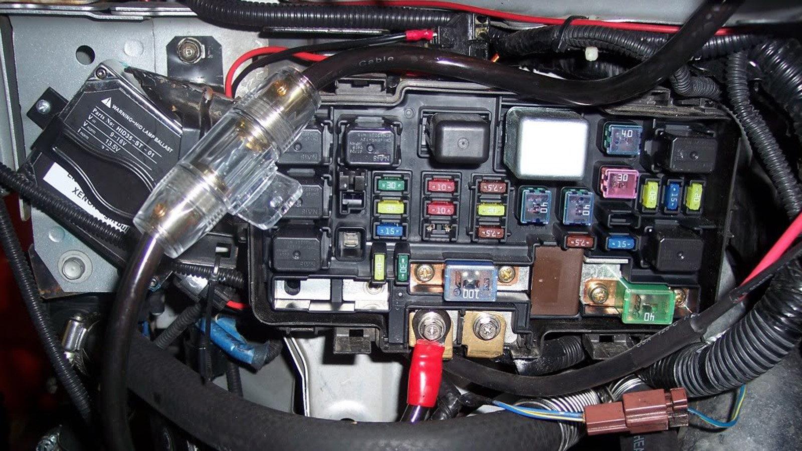 Honda Civic Del Sol Fuse Box Diagrams   Honda tech