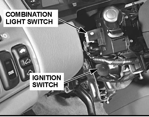 Honda Accord Why Is Car Not Starting And Lights Flickering: 1998 Honda Crv Ignition Switch At Bitobe.net