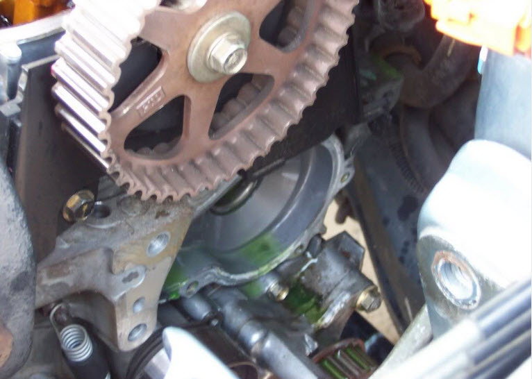 Honda Civic How To Replace Timing Belt And Water Pump Hondatech