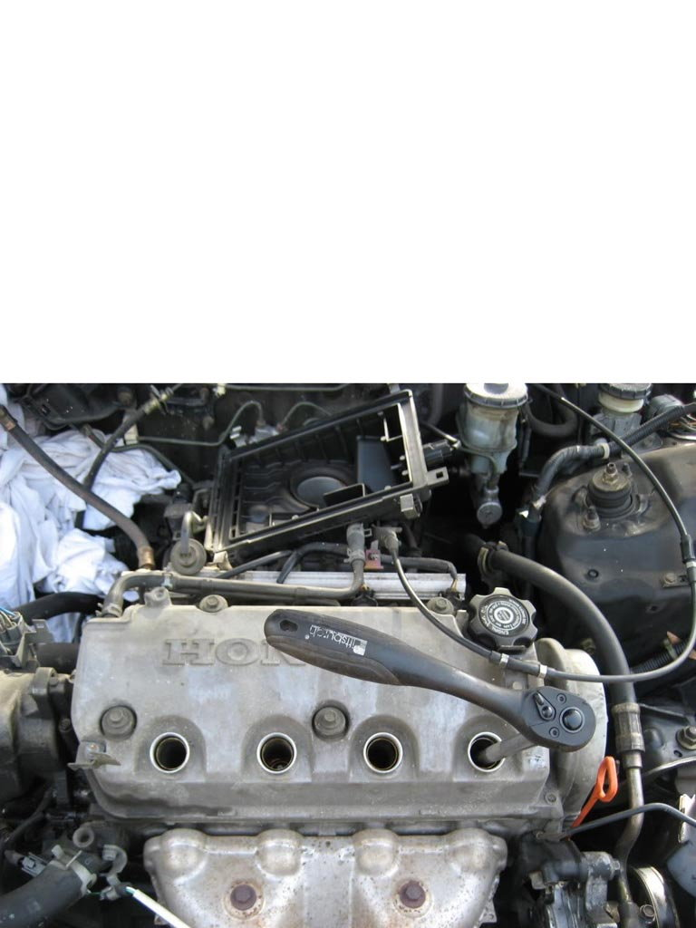 Mmarch Timing Belt Water Pump on Honda Civic Engine Replacement